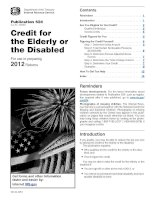 Credit for the Elderly or the Disabled For use in preparing 2012 Returns docx