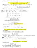 Công thức của các dạng toán Sinh học 10, 11,12
