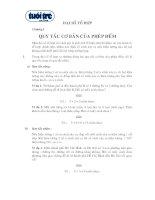 Sơ lược lý thuyết và bài tập đại số tổ hợp lớp 12 doc