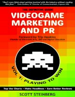 Videogame Marketing and PR: Vol. 1- Playing to Win pot