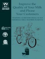 Improve the Quality of Your Milk and Please Your Customers pdf