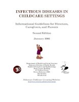 Informational Guidelines for Directors, Caregivers, and Parents docx
