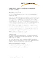 Preparing for the IELTS test with Holmesglen Institute of TAFE docx