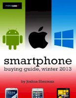 Smartphone Buying Guide: Winter 2013