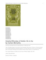 Detailed Minutiae of Soldier life in the Army of Northern Virginia, 1861-1865 pdf