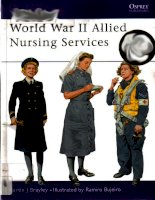 World War II Allied Nursing Services (Men-at-Arms) ppt