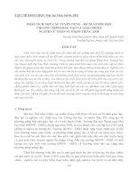 PHÂN TÍCH NHU CẦU TUYỂN DỤNG – ĐỀ XUẤT ĐỔI MỚI CHƯƠNG TRÌNH ĐÀO TẠO VÀ GIÁO TRÌNH NGÀNH CỬ NHÂN SƯ PHẠM TIẾNG ANH pptx