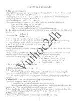 CHUYÊN ĐỀ 2: SỐ NGUYÊN - ĐẠI SỐ LỚP 6 doc