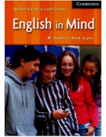 english in mind - student's book stater
