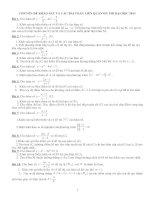 Câu I. Khảo sát hàm số potx