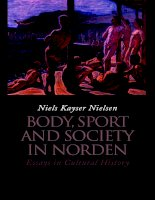 body, sport and society in norden essays in cultural history pptx