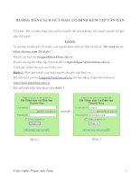Hướng dẫn gửi email có kèm thêm tệp văn bản pot