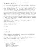 Viết bài tập làm văn số 5 lớp 9 - văn mẫu