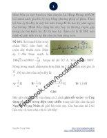 Giải bài toán lý này bằng phương pháp số phức ppt