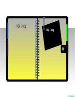 văn bản powerpoint - sổ tay ghi chú cá nhân, powerpoint notes