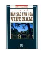 Tìm về bản sắc văn hóa Việt Nam docx