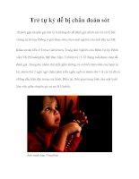 Trẻ tự kỷ dễ bị chẩn đoán sót potx