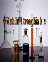 Các định luật trong hóa học phần 2 pot