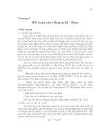 Chương ̣9 Rối loạn cân bằng acid - Base pot