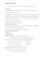 giáo án môn toán lớp 9 – đại số bài 2 căn thức bậc hai và hằng đẳng thức