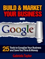 Building & Marketing Your Business with Google potx