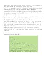 Hướng dẫn viết đơn xin việc
