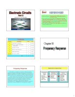 Electronic Circuits - Part 2 - Chapter 11 Frequency Response pdf