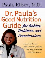 Dr. Paula''''s Good Nutrition Guide docx