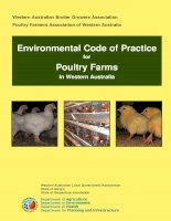 Environmental Code of Practice for Poultry Farms in Western Australia pptx