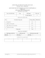 đáp án đề thi thực hành khóa 2 - công nghệ ôtô - mã đề thi oto - th (10)