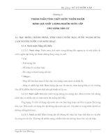 Bài giảng: Xử lý nước cấp (Chương 1) pptx