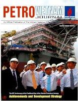 Tạp chí của tập đoàn dầu khí quốc gia Việt Nam - Petrovietnam - Số 10 - 2011 pdf