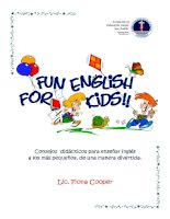 fun english for kids castellano