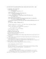 LÝ THUYẾT ÔN TẬP BỒI DƯỠNG HỌC SINH GIỎI TOÁN LỚP 5 - 2013 pptx