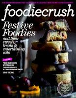 Tạp chí văn hóa ẩm thực Foodiecrush Holiday 2013