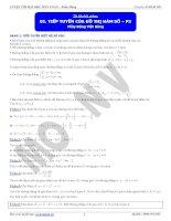 Tiếp tuyến của đồ thị hàm số - P3 ppt