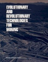 EVOLUTIONARY AND REVOLUTIONARY TECHNOLOGIES FOR MINING pdf