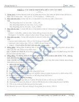 Chuyên đề ôn thi tốt nghiệp môn hóa docx