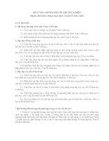 ĐỀ CƯƠNG HƯỚNG DẪN ÔN THI TỐT NGHIỆP PHẦN: PHƯƠNG PHÁP DẠY HỌC TOÁN Ở TIỂU HỌC potx