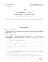 law on intellectual property 2005.doc