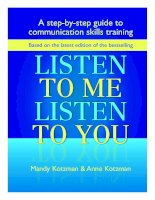 a step by step guide to english communication skills - listen to me listen to you
