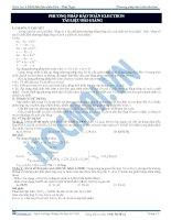Bài 8. Phương pháp bảo toàn Electron