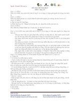 ĐỀ THI THỬ ĐẠI HỌC LẦN 1 NĂM 2013 Môn thi: ĐỊA LÝ ĐỀ 4 pot