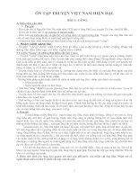Ôn tập truyện Viêt Nam hiện đại văn 9