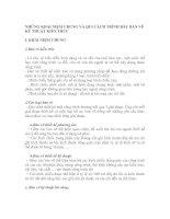 NHỮNG KHÁI NIỆM CHUNG VÀ QUI CÁCH TRÌNH BÀY BẢN VẼ KỸ THUẬT KIẾN TRÚC pdf