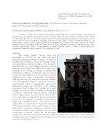 Landmarks Preservation Commission February 12, 2008, Designation List 401 LP-2109 ppt