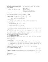 Đề Thi Thử Đại Học Toán 2013 - Đề 36 ppt