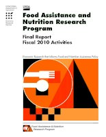 Food Assistance And Nutrition Research Program Final Report - Fiscal 2010 Activities.pdf docx
