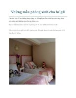 Những mẫu phòng xinh cho bé gái potx