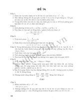 Tuyển Tập 45 Đề Ôn Thi Đại Học Toán 2013 - Đề 11 pdf